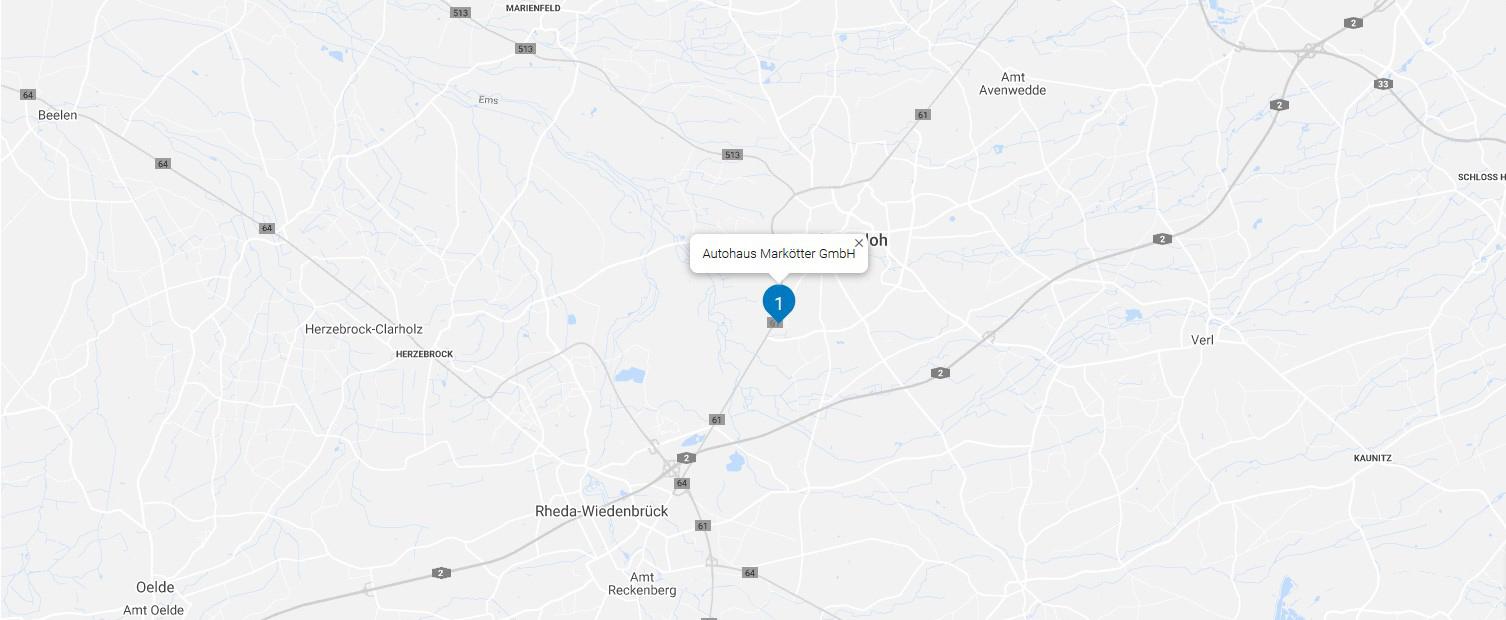 Dealer map